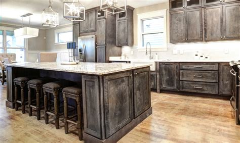 rustic grey kitchen cabinets rustic shaker gray kitchen cabinets we ship everywhere 4977