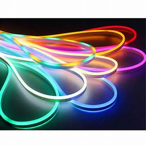 Smd, 2835, 50cm, Cut, Double, Side, Light, Flexible, Led, Neon, Lights, 12vdc, Waterproof, Outdoor