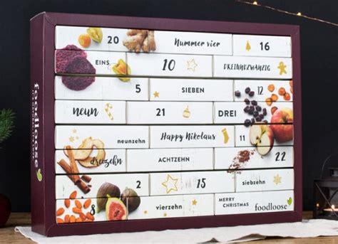 originelle adventskalender für erwachsene vegane originelle gesunde adventskalender f 252 r