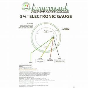 Auto Gauge Tachometer Wiring Diagram
