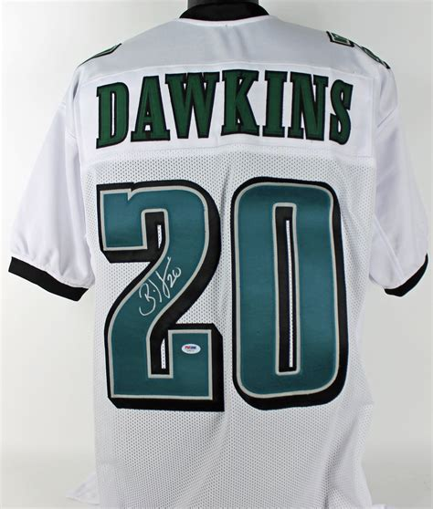 Eagles Brian Dawkins Authentic Signed White Jersey