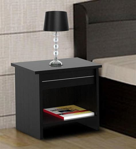 buy carnival bedside table  wenge finish  spacewood