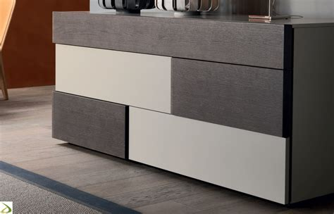 Cassettiere Moderne Design by 242 Design 5 Cassetti Spark Arredo Design