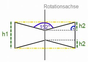 Rotationskörper Volumen Berechnen : oberfl che volumen im rotationsk rper onlinemathe das mathe forum ~ Themetempest.com Abrechnung
