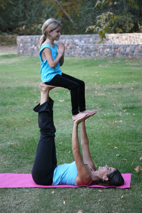 Kids Partner Yoga Poses for Two People