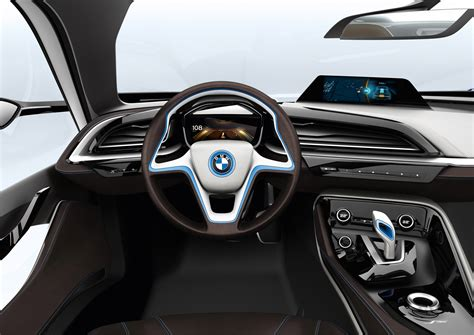 2011 Bmw I-8 Concept Supercar Supercars Interior Steering