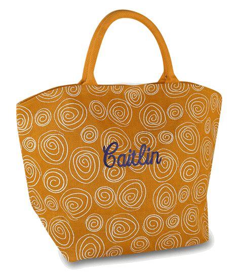 womens trendy jute tote bags personalized monogrammed