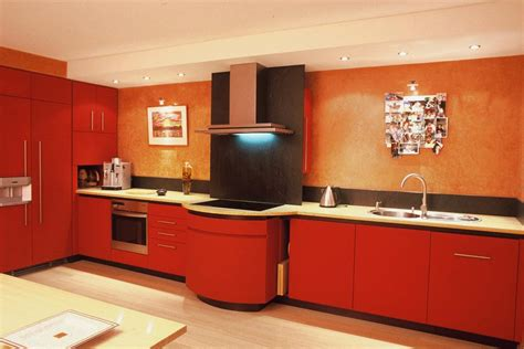 d馗o mur cuisine cuisine avec crédence en ardoise et mur peches