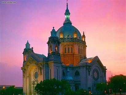 Paul Cathedral St Minnesota Saint Catholic Desktop