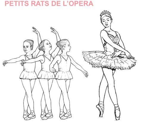dessins de coloriage danseuse  imprimer