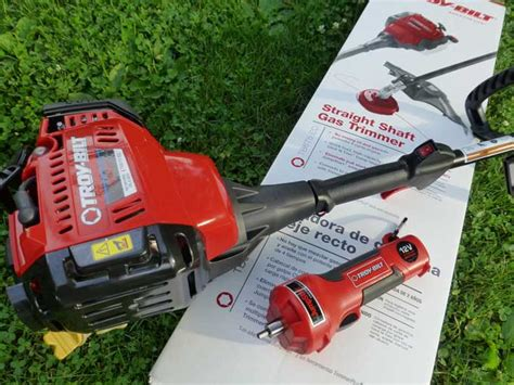 trimmer troy bilt gas cycle grass winner contest tb675 ec related giveaway