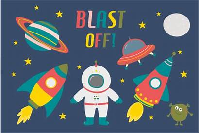 Space Clipart Blast Graphic Poppymoondesign Illustrations Cliparts