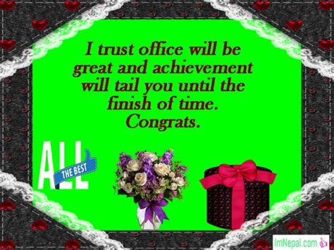 In case you stay around them, meet them personally and congratulate them on this very new beginning and tell them how proud are you of them. Congratulations Messages For New Office Opening - Wishes ...