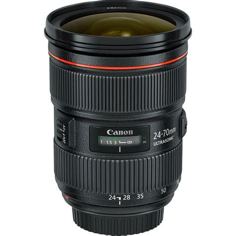 70c in f canon ef 24 70mm f 2 8l ii usm lens 5175b002 b h photo