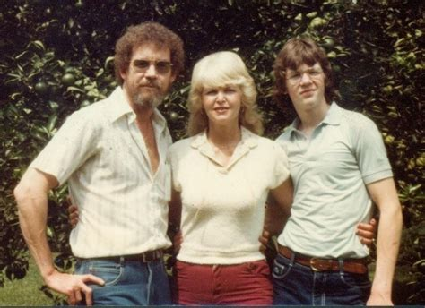 Bob Ross And His First Wife, Vicky, With Their Son Steve