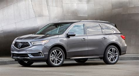 2020 Acura Mdx Sport Hybrid by Acura Reveals New Mdx Lineup
