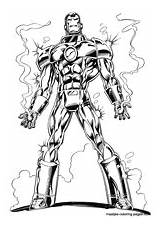 Ironman Coloring Pages sketch template