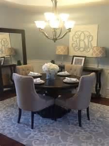 Blue Grey Dining Room