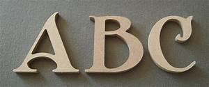 Lettre En Bois A Peindre : grosses lettres en bois ~ Dailycaller-alerts.com Idées de Décoration