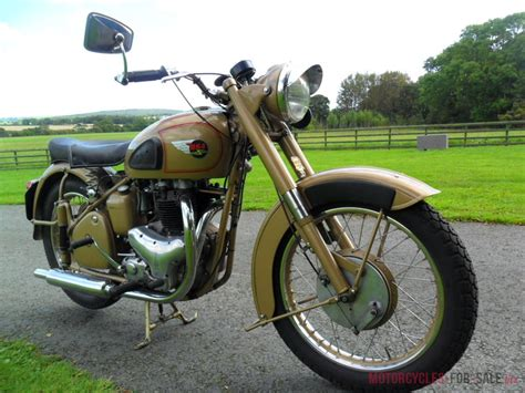 1950 Bsa A10 Golden Flash Plunger 650cc Motorcycle