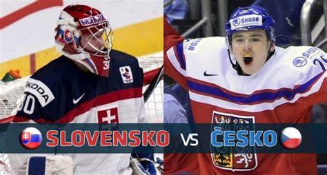 Slovensko a česko dnes hrajú 2. MS U20: Slovensko vs. Česko (ONLINE PRENOS)