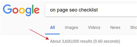 Seo Search Results by 19 Step On Page Seo Checklist With Free Automation Template