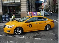 NYC Taxi Nissan Altima Relatively uncommon in NYC Taxi