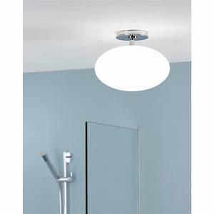 Zeppo polished chrome bathroom lighting ceiling lights