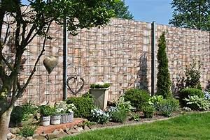 Sichtschutzstreifen Zum Einflechten : dekor bunt zaun ~ Michelbontemps.com Haus und Dekorationen