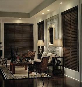 Gesims Für Vorhänge : premium wood blinds 1 3 8 slats dunkel sorgen und edel ~ Michelbontemps.com Haus und Dekorationen