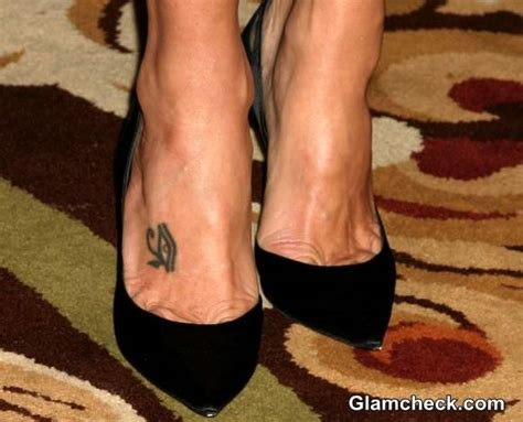 celebrity feet tattoos
