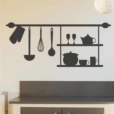 stickers pour la cuisine stickers muraux pour la cuisine sticker étagère