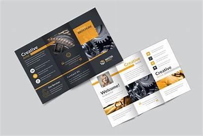 Brochure Creative Tri Fold Corporate Master Templates