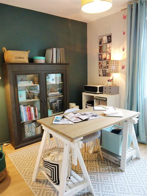 avantapres la decoration de mon bureau atelier home