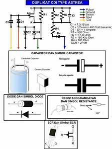 Belajar Electro  Skema Rangkaian Cdi