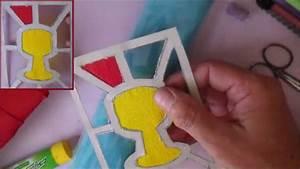 Faire Soi Meme Bricolage : bricolage communion faire soi m me carte vitrail d 39 un ~ Premium-room.com Idées de Décoration