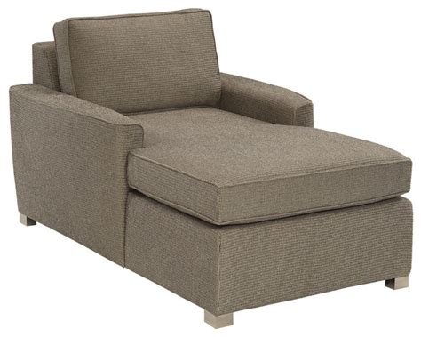harmony chaise lounge in hobnob biel transitional