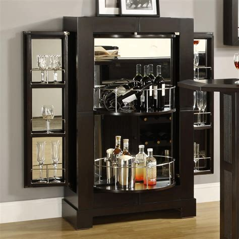 Amazing of Cool Modern Corner Bar Cabinet For Bar Cabinet