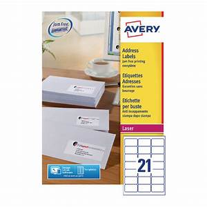avery address laser labels 21 labels per sheet 100 With avery label sheets