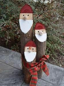 Deko Aus Baumstämmen : gartenzwerge aus naturfreundlichen materialien baumst mmen basteln pinterest weihnachten ~ Frokenaadalensverden.com Haus und Dekorationen