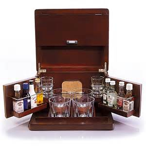 Brookstone® Mini Bar Portable Tabletop Bar & Accessories   Bed Bath & Beyond