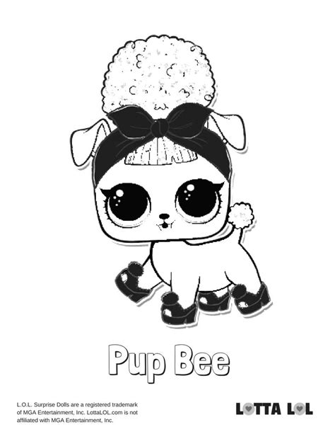 Lol Pets Kleurplaat by Pupsta Coloring Page Lotta Lol Lol Series 3