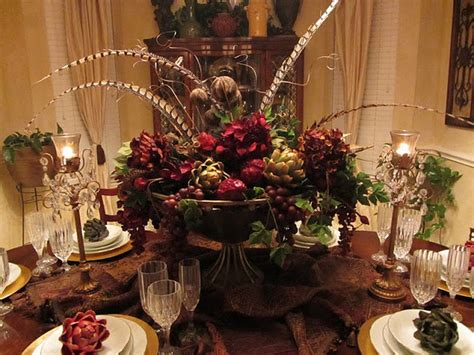 fall formal dining table centerpiece home decor pinterest dining table arrangements norton safe search christmas