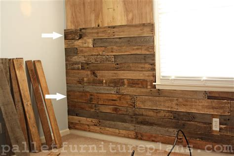 pallet wood accent wall a great idea of pallet wood wall