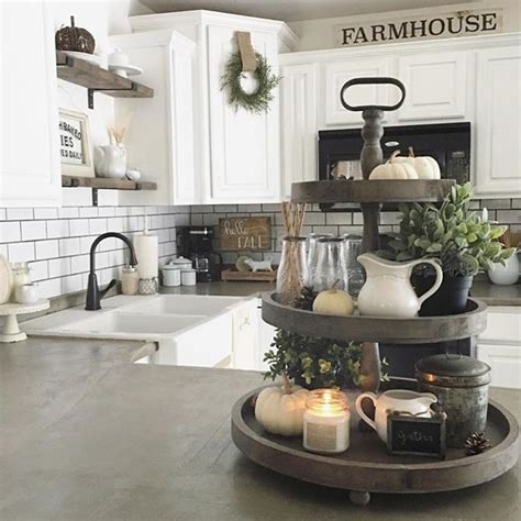 farmhouse kitchen counter decor best 20 tiered stand ideas on Farmhouse Kitchen Counter Decor