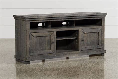 sinclair grey   tv stand living spaces