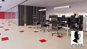Lino En Dalle : marmoleum click rev tements de sol lino clipsable en ~ Premium-room.com Idées de Décoration