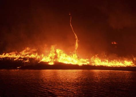 Firenado explained: What is really happening in a fire whirl?