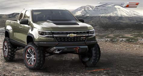 2017 Chevrolet Colorado Zr2 Release Date , Review And
