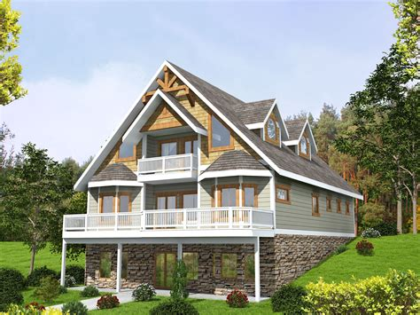 Plan 35510GH: Mountain House Plan with Expansion